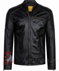 Ao da biker 29 of 52 áo da thật , áo da nam