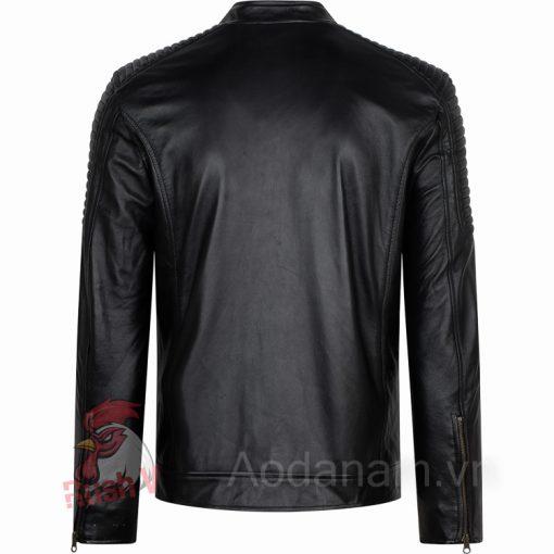 Ao da biker 30 of 52 áo da thật , áo da nam