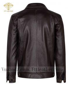 ao khoac da de 3 1501573199 áo da thật , áo da nam