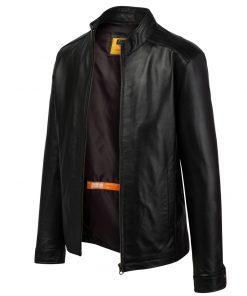 2005C41320S 2 áo da thật , áo da nam